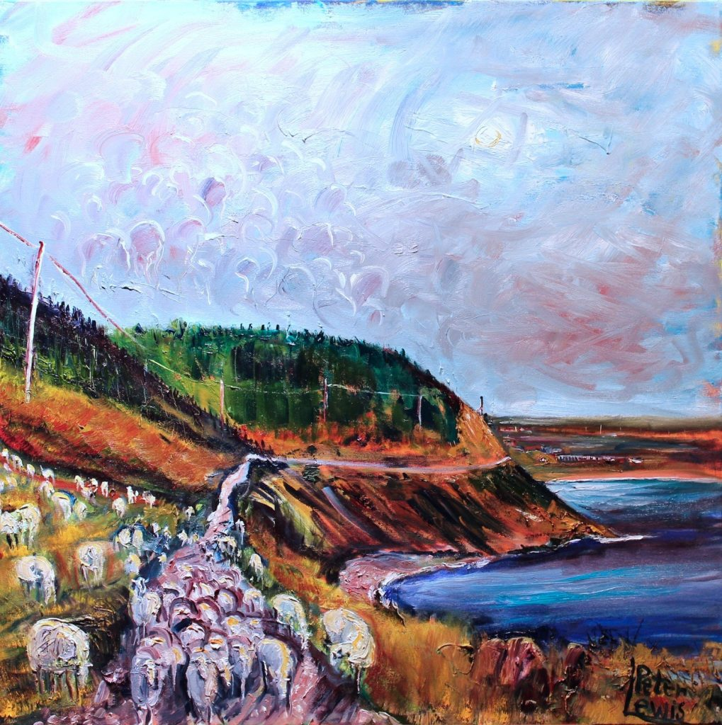 Sheep on the Tilts, Point Lance
