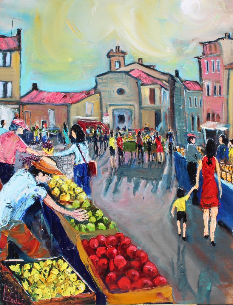 Market at Gordes