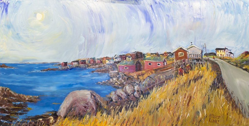 Greene's Point to Little Fogo Island; Tilting